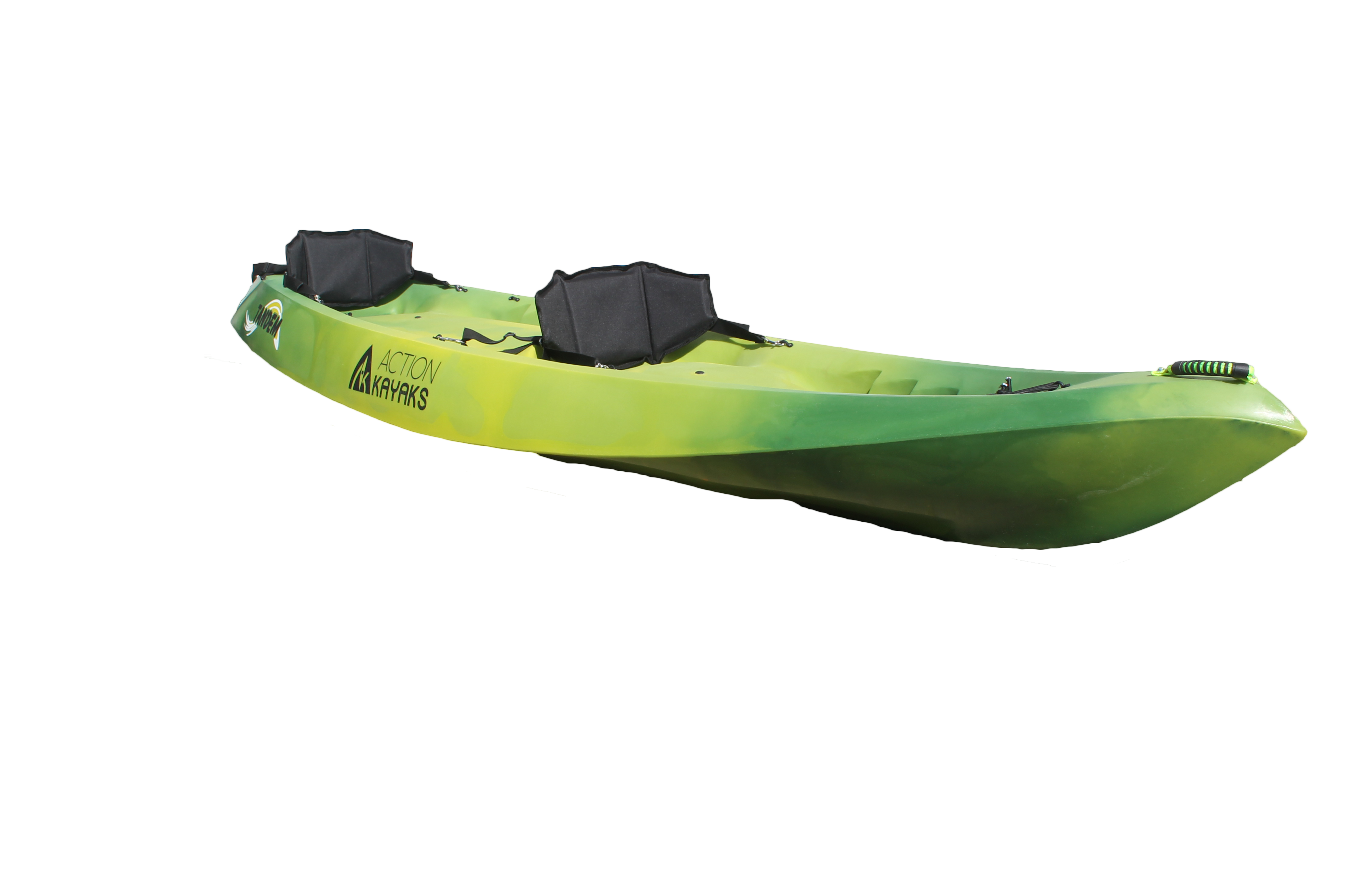 Tandem Action Kayaks Doble vista