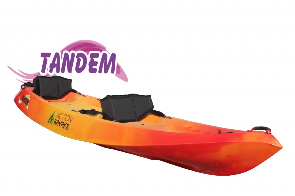 Action Kayaks Tandem- Compra Kayak doble-pesca