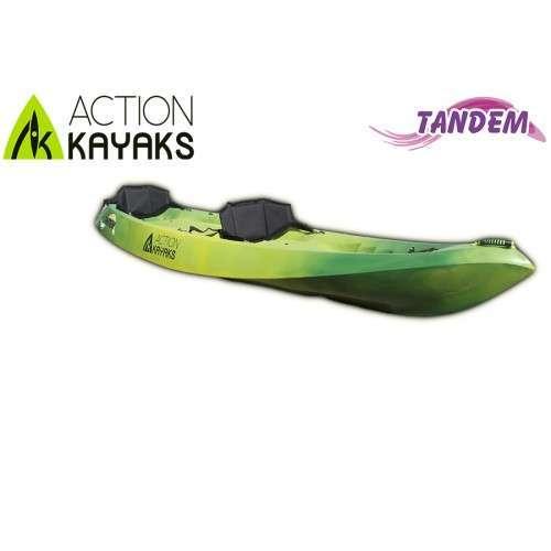 Kayak doble- Action Kayaks modelo Tandem